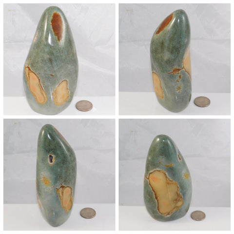 Polychrome Jasper Mantle Piece - Moroccan Village