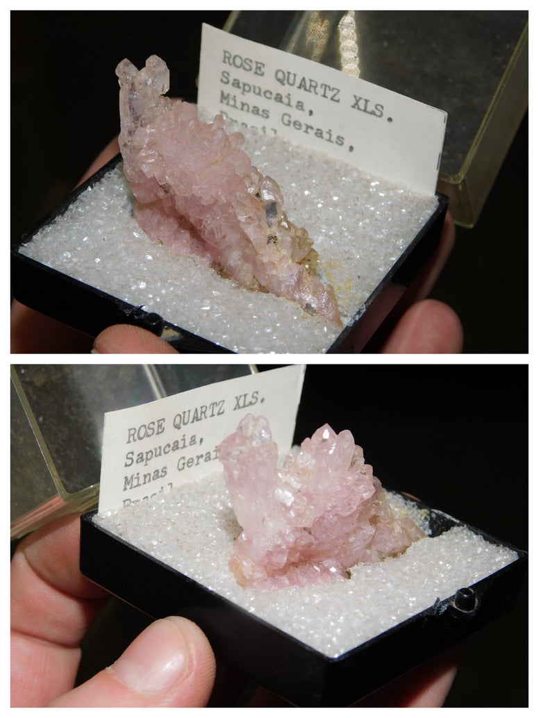 Large Rose Quartz Cluster - Moroccan Village