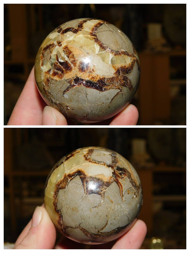 Septarian Sphere - Moroccan Village