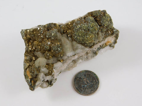 Pyrite on Calcite - Moroccan Village