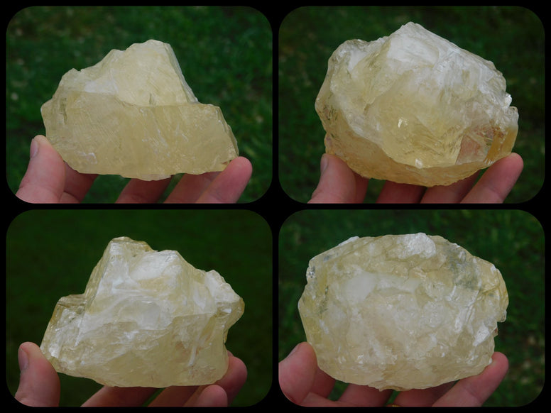 Honey Calcite Mexico - Moroccan Village