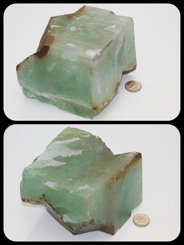Green Calcite - Moroccan Village