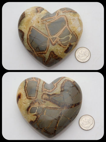 Septarian Heart - Moroccan Village