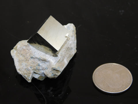Pyrite Crystal in Matrix