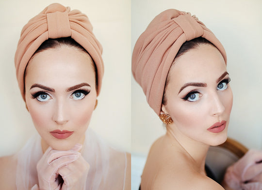 Aida Van Munster wearing turban by Brothers and Sisters