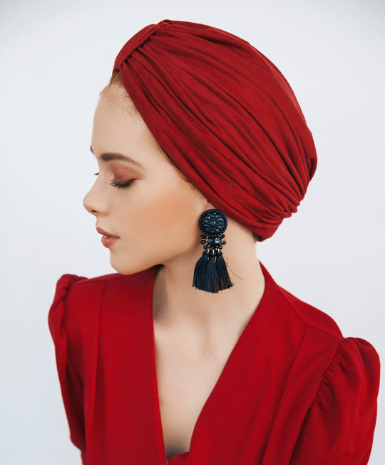 Women ready made turban, turban hijab