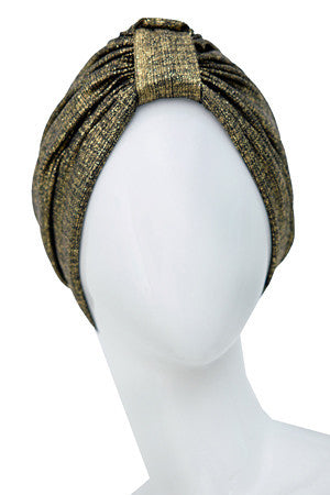 LAME Polyester turban for women