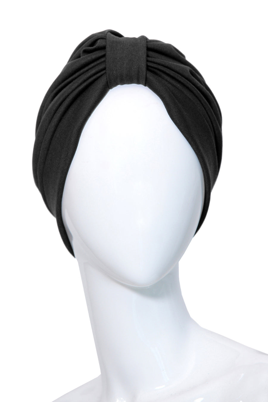 BOISSIERE Black Fashion Turbans