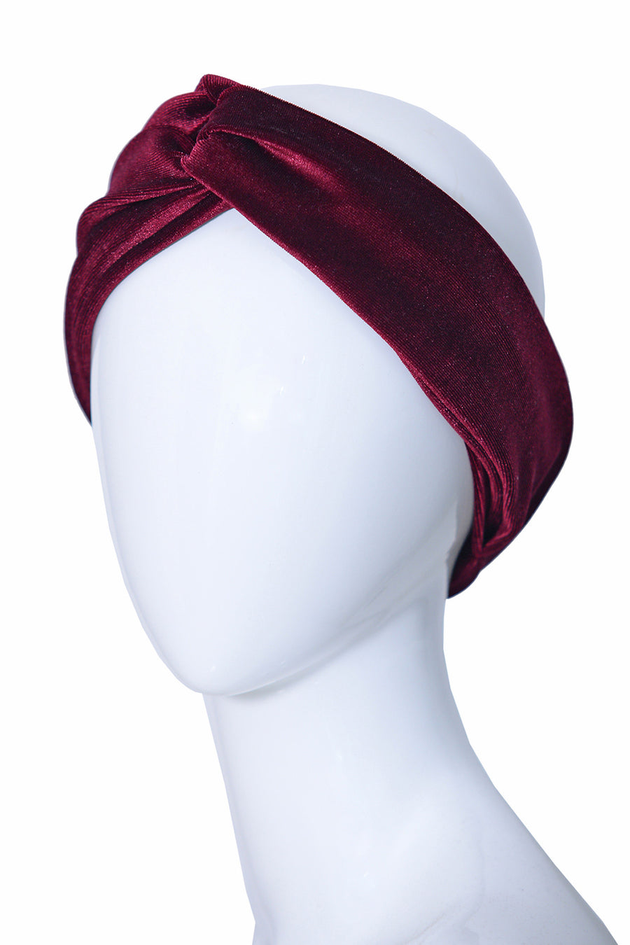 Adelaide Red Crossed Turbans