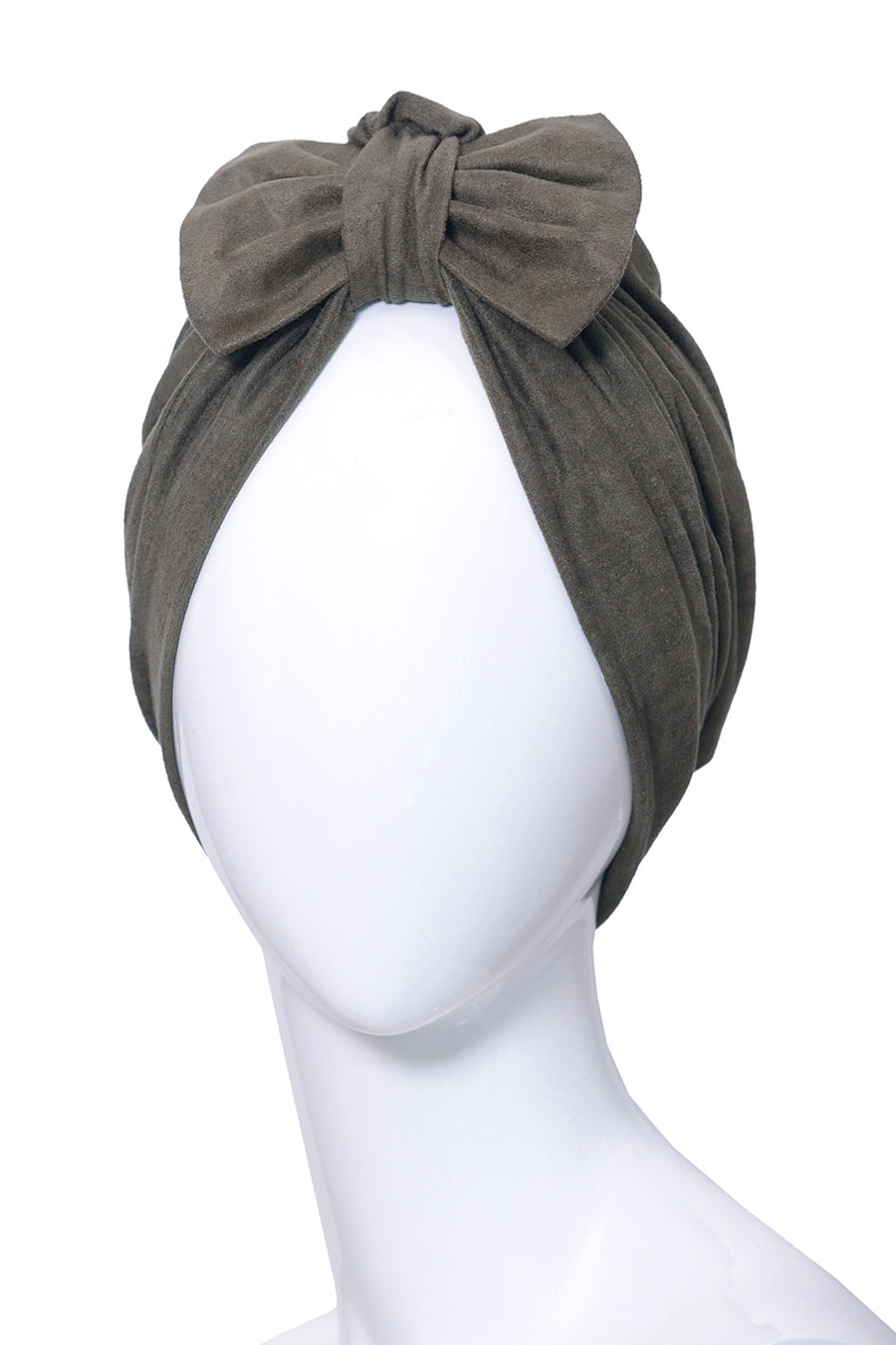 PARMENTIER Green Kaki Turban for women