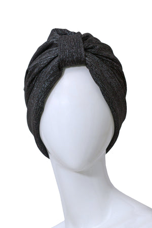 NUAGE Black turban for women
