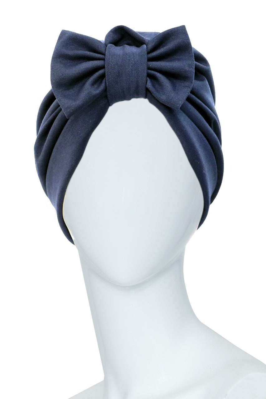 CHARDON LAGACHE Dark Blue Turban