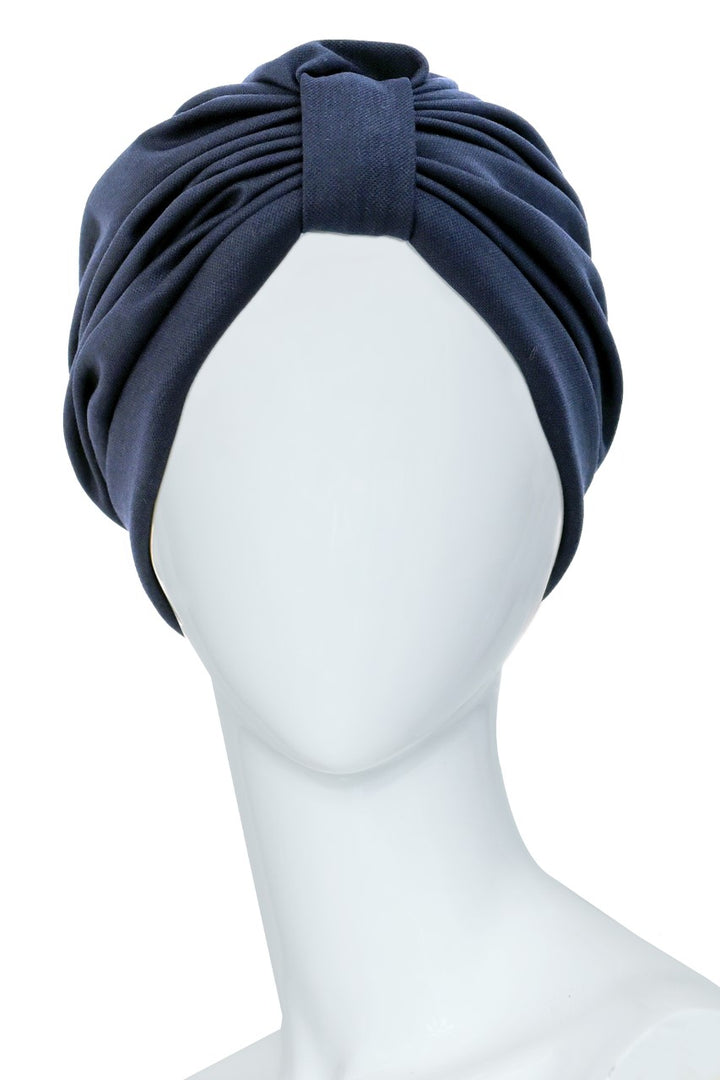 CAMBRONNE Dark Blue Turban