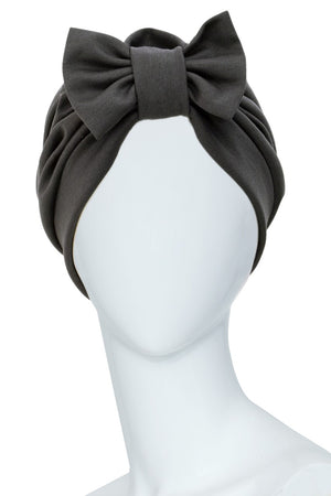 TELEGRAPHE Grey Turban for women