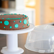 cake stand with carrier