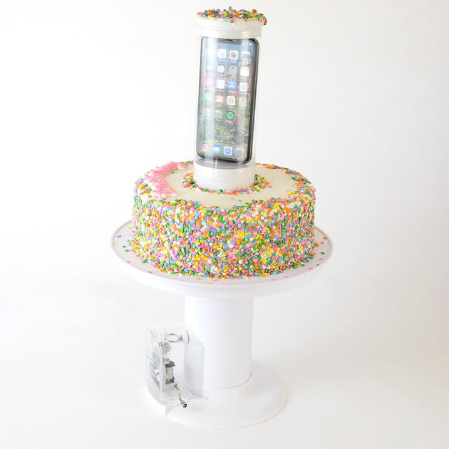Popping Cake Stand Amp Music Box Trigger Surprise Cake
