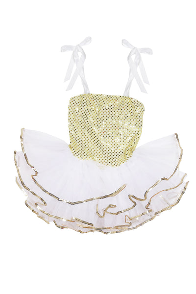 Girls' Baby Goldie Costume Leotard Dress