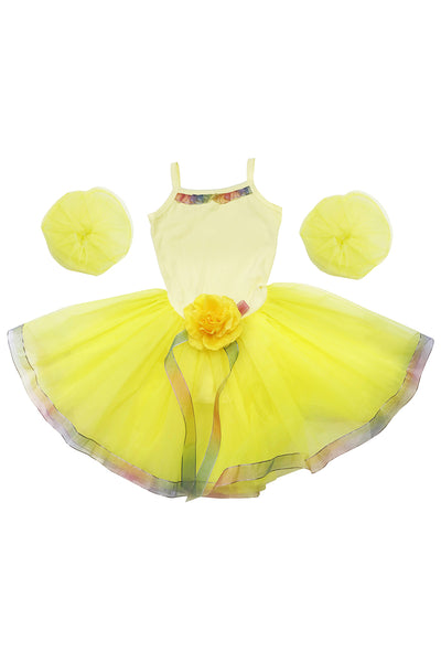Girls' Belle of the Ball Costume Leotard Dress