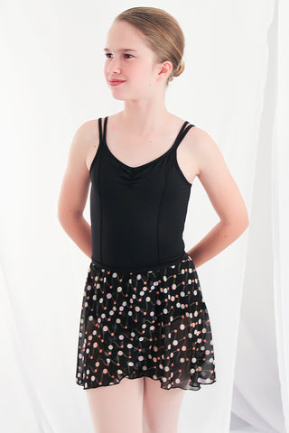 Girls' Overlap Printed Skirt