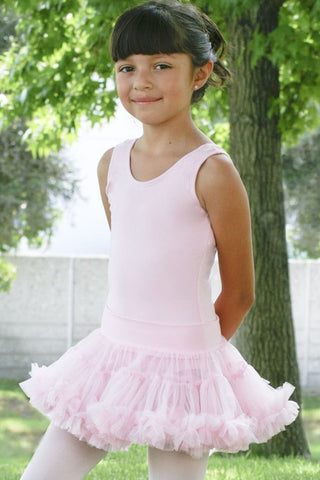 Girls Petticoat With Waistband Skirt