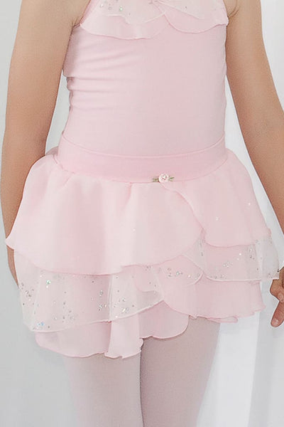 Girls Layered Mesh Skirt