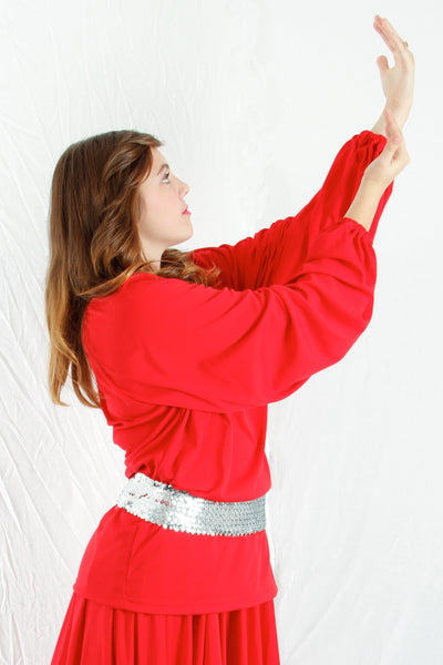 Liturgical Long Sleeve Tunic Top