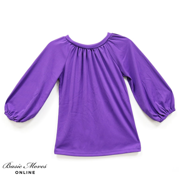 Adult Plus Size Liturgical Long Sleeve Tunic Top