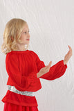 Liturgical Long Sleeve Crew Neck Tunic Top | Children's