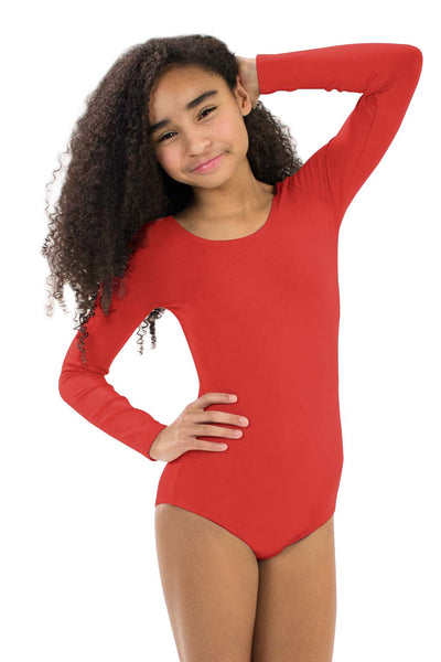 Girls' Long Sleeve Leotard
