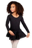 Girls' Long Sleeve Leotard Dress