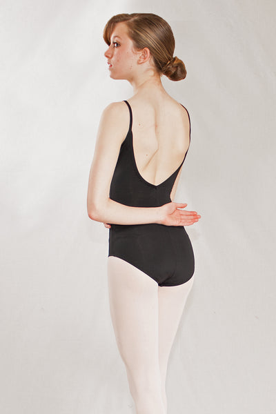 Low Back Cami Leotard with Princess Seam