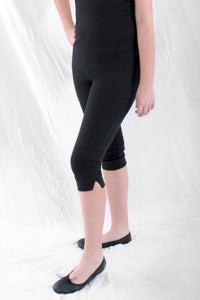 Adult Side Slit Capri