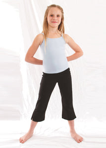 Girls' Boot-Cut Capri Pants