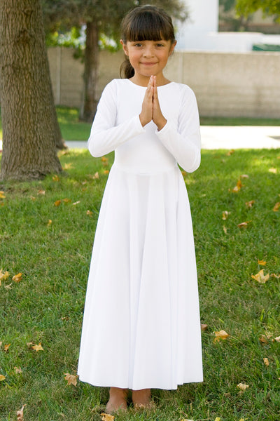 Girls' Liturgical Long Sleeve Dress