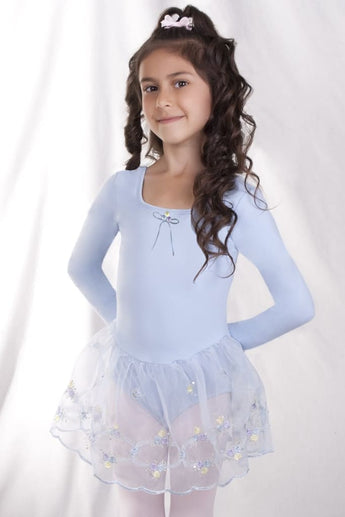 Girls Organdy Embroidery Dress