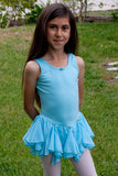 Girls' Tank Dress with Salsa Skirt