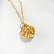 Greek Goddess Gaia Gold Necklace-Rani & Co.