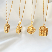 greek goddess collection gold pendant necklaces-Rani & Co. jewellery