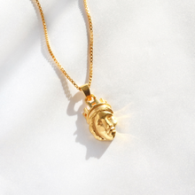 Goddess Tyche Necklace (18k Gold Vermeil)