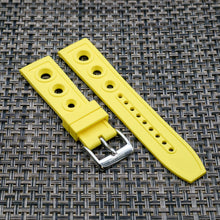 Canary Yellow RALLY StrapoRUBBER 22/24mm