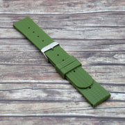 Military Green StrapoWAFFLE Rubber 22mm