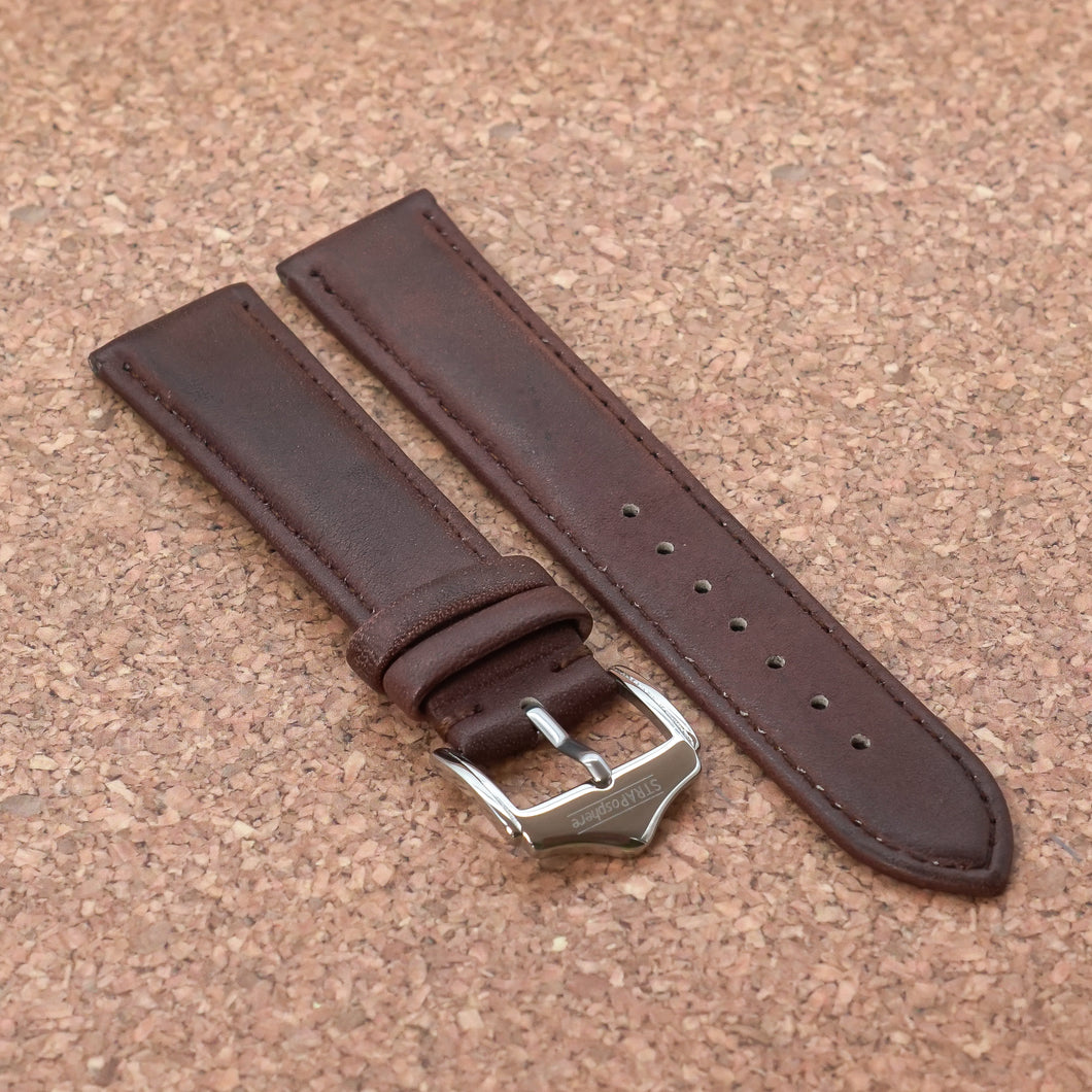 CLASSIC Chestnut Red StrapoLEATHER 20/22mm