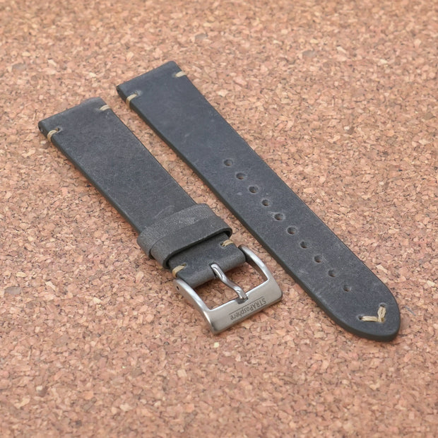 StrapoLEATHER VINTAGE 2.0 Smoke Grey
