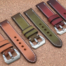 RUGGED Sandstone Orange StrapoLEATHER 22/24mm