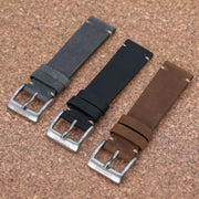 VINTAGE 2.0 Smoke Grey StrapoLEATHER 20/22mm
