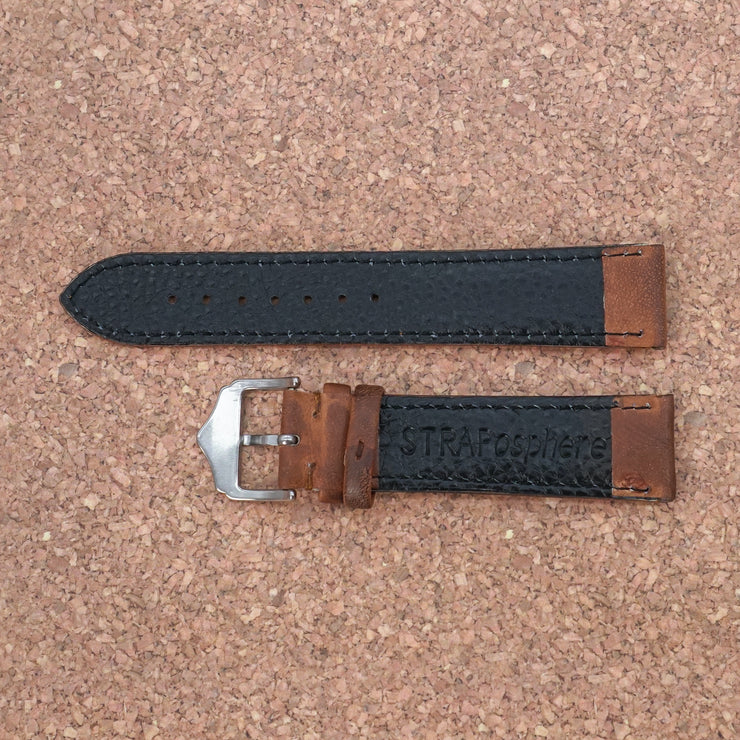 StrapoLEATHER CLASSIC Caramel Brown