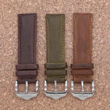 CLASSIC Caramel Brown StrapoLEATHER 20/22mm