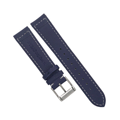 StrapoSAIL Navy with White stitching
