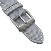 StrapoSAIL Light Grey with Cream stitching