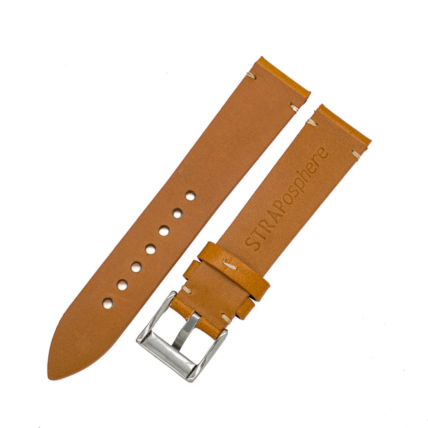 StrapoLEATHER VINTAGE 4.0 Wheat Brown
